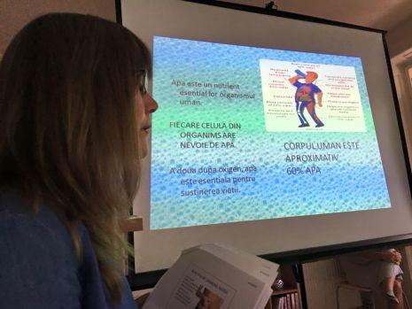 """Seminarul """"Beneficiile apei pentru organismul uman"""""""